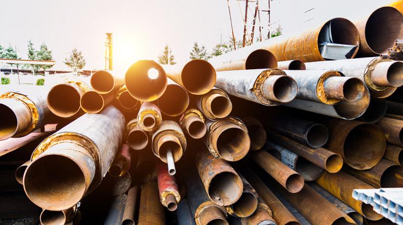 aluminum pipe oxidation